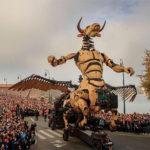 2018/11/7で気になった記事 全長15メートルの牛頭人身の怪物「ミノタウロス」がフランスの街に来襲、実際に動く様子のムービー&写真まとめ…他