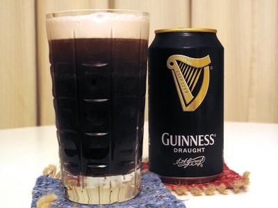 今夜のビールはギネスビール