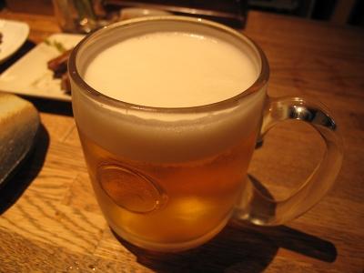 燻製と地ビール 和知がとても美味しかったです。