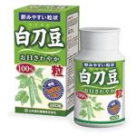 慢性副鼻腔炎にハナノアと白刀豆粒が効いています
