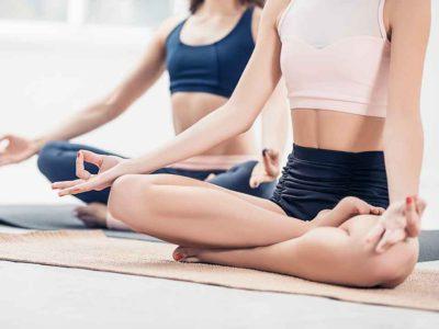 瞑想を練習中