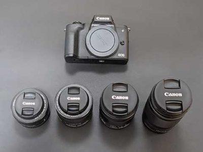 映像用カメラはEOS KISS M2にしました